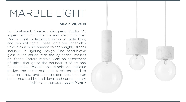 Studio Vit, andtradition, marble light, marble light fixtures, pendant light fixtures, danish designer lighting, design from copenhagen, suite ny, suite new york
