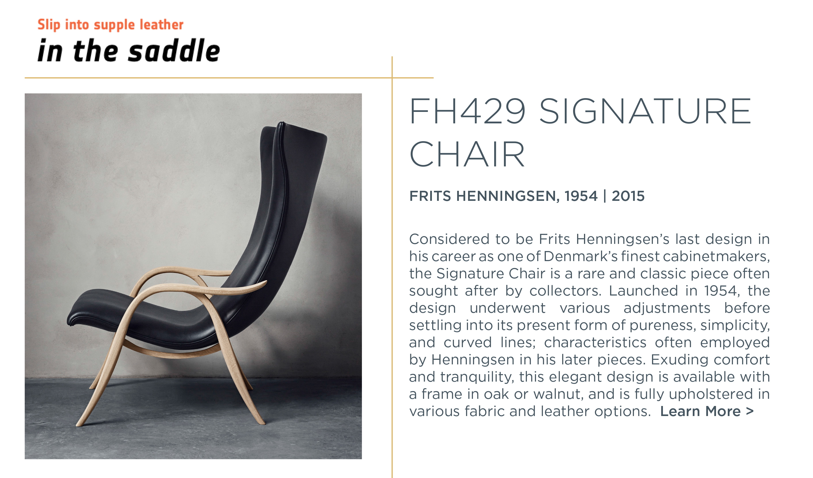 1 fh429 signature chare frits henningsen carl hansen and son suite ny
