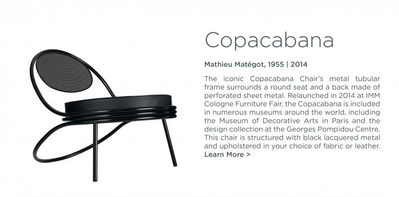copacabana chair lounge mathieu mategot gubi suite ny