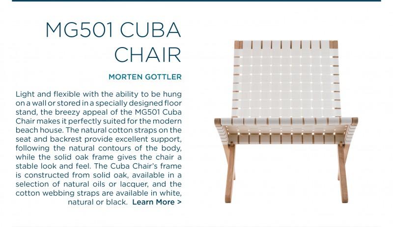 MG501 Cuba Chair folding carl hansen and son natural oak morten gottler suite ny suite new york