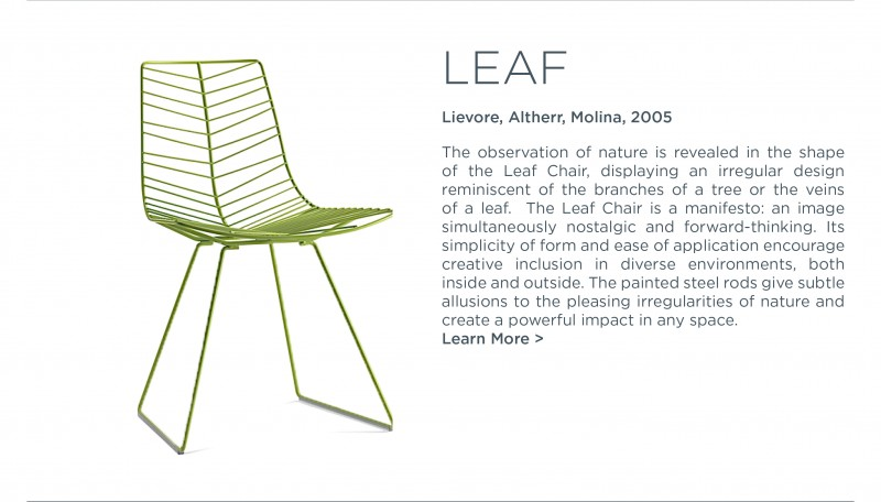 leaf chair lievore altherr molina arper suite ny