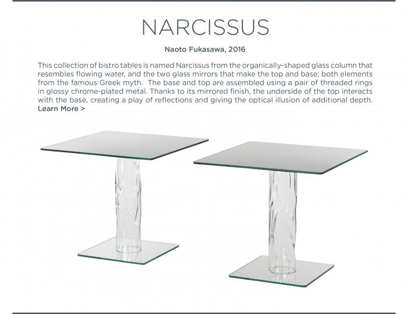 narcissus naoto fulasawa glas italia suite ny