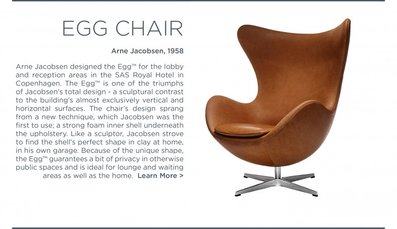 egg chair fritz hansen arne jacobsen suite ny