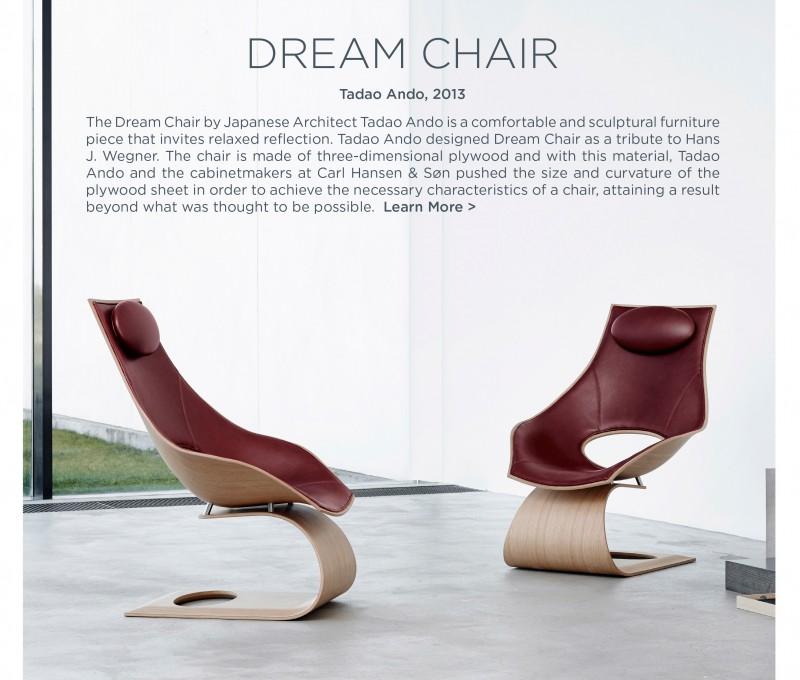 TA001 Dream Chair tadao ando carl hansen