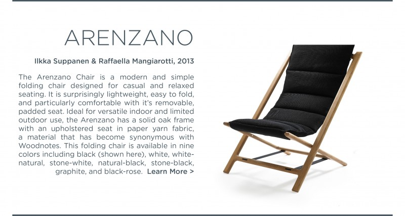 Arenzano chair woodnotes paperyarn ilkka supanen raffaekka mangiarotti suite ny suite new york