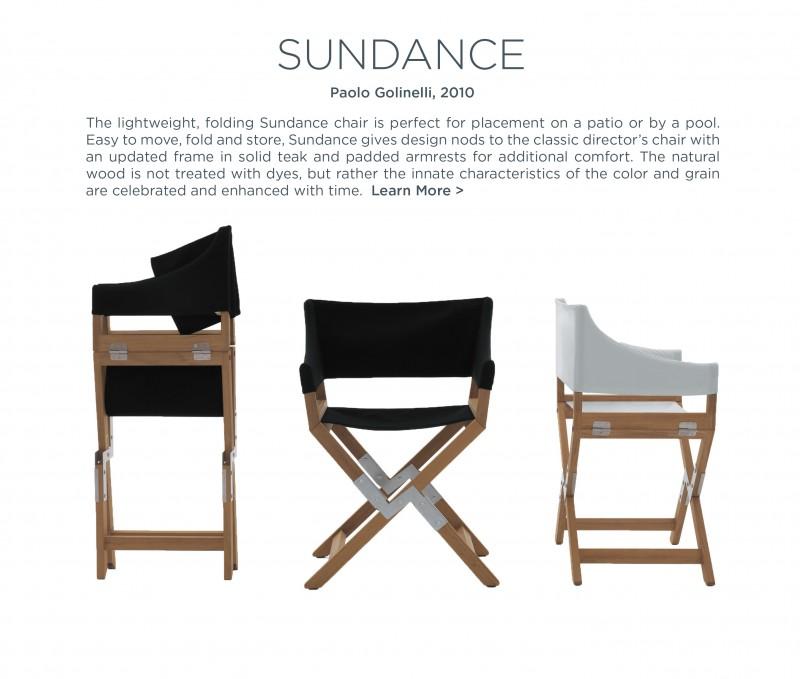 Sundance Chair paolo golinellu de padova suite new york suite ny