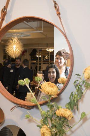 fritz Hansen event suiteny ahnet mirror new york furniture showroom