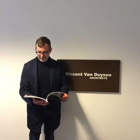 chris-kraig-at-vincent-van-duysen-office