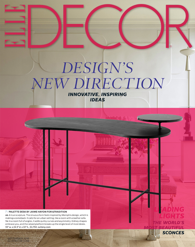 elle decor palette desk suite ny jaime hayon