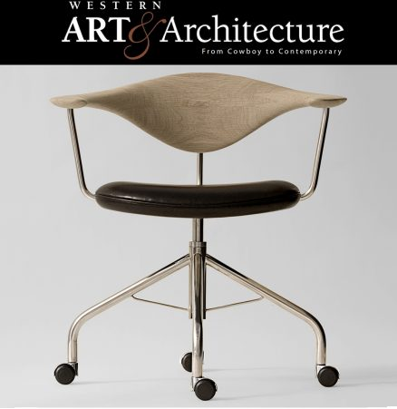 Swivel chair western art & architecture