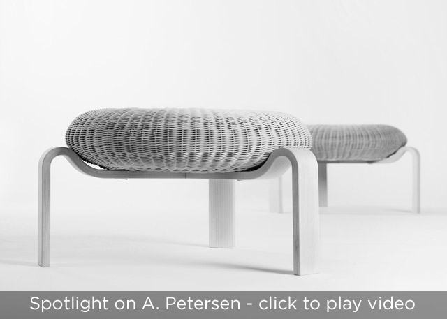 OS Stool by A. Petersen at SUITE NY